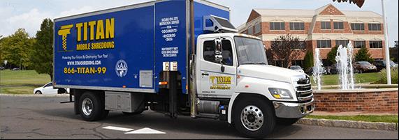 TITAN Mobile Shredding shred truck